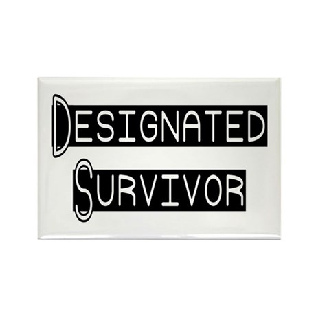 Designated Survivor Rectangle Magnet