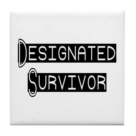 Designated Survivor Tile Coaster