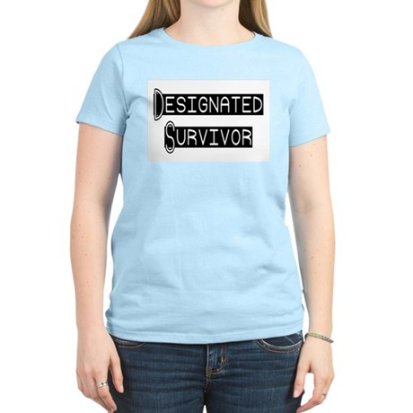Designated Survivor Women's Pink T-Shirt