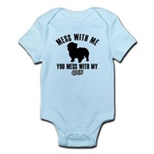 Don't mess with my Glenn Infant Bodysuit