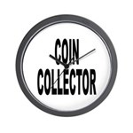 Coin Collector Wall Clock