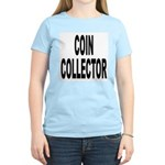 Coin Collector (Front) Women's Pink T-Shirt