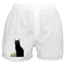 black cat Boxer Shorts