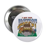"I HIT THE JACKPOT 2.25"" Button (100 pack)"