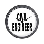 Civil Engineer Wall Clock