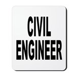 Civil Engineer Mousepad