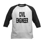 Civil Engineer Kids Baseball Jersey