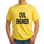 Civil Engineer Yellow T-Shirt