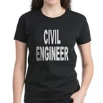 Civil Engineer (Front) Women's Dark T-Shirt