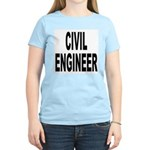 Civil Engineer (Front) Women's Pink T-Shirt