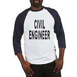 Civil Engineer (Front) Baseball Jersey