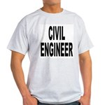 Civil Engineer Ash Grey T-Shirt