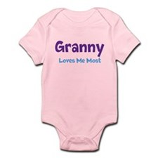 Granny Loves Me Most Infant Bodysuit