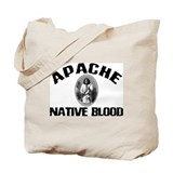 Apache Native Blood Tote Bag