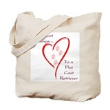 Flat-Coat Heart Belongs Tote Bag