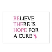 believe there is hope for a cure Postcards (Packag