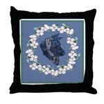 German Shepherd Profile Throw Pillow