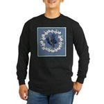 German Shepherd Profile Long Sleeve Dark T-Shirt