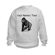 Custom Gorilla Sketch Sweatshirt