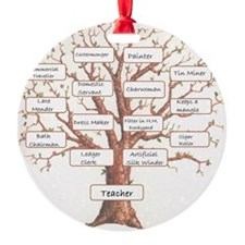 Family Occupation Tree Ornament