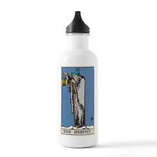 THE HERMIT TAROT CARD Water Bottle