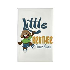 Monkey Little Brother Rectangle Magnet