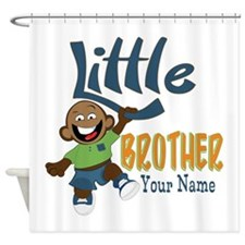 Monkey Little Brother Shower Curtain