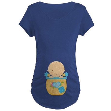 Baby Boy Pregnancy Maternity T-Shirt