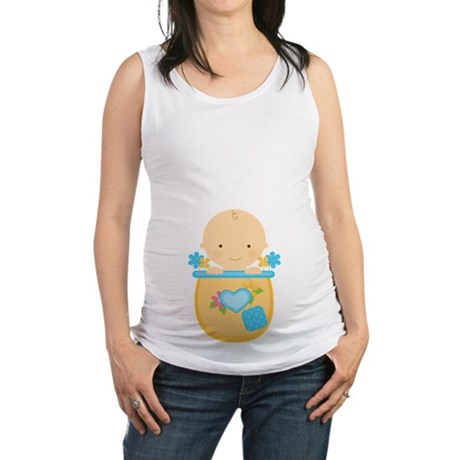 Baby Boy Pregnancy Maternity Tank Top