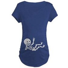 Pregnant Skeleton Maternity T-Shirt