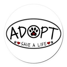 Universal Animal Rights Round Car Magnet