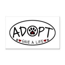 Universal Animal Rights Rectangle Car Magnet