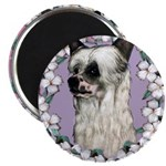 Powder Puff Chinese Crested Magnet