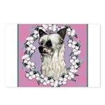 Powder Puff Chinese Crested Postcards (Package of