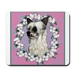 Powder Puff Chinese Crested Mousepad