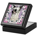 Powder Puff Chinese Crested Keepsake Box