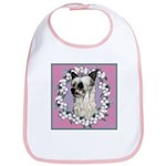 Powder Puff Chinese Crested Bib