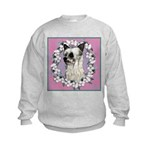 Powder Puff Chinese Crested Kids Sweatshirt