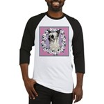 Powder Puff Chinese Crested Baseball Jersey