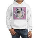 Powder Puff Chinese Crested Hooded Sweatshirt