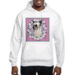 Powder Puff Chinese Crested Hooded Sweatshirt