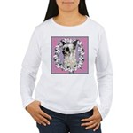 Powder Puff Chinese Crested Women's Long Sleeve T-