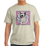 Powder Puff Chinese Crested Ash Grey T-Shirt