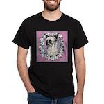 Powder Puff Chinese Crested Dark T-Shirt