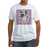 Powder Puff Chinese Crested Fitted T-Shirt
