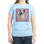 Powder Puff Chinese Crested Women's Pink T-Shirt