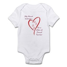 Glen of Imaal Heart Belongs Infant Bodysuit