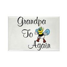 Grandpa To Bee Again Magnets