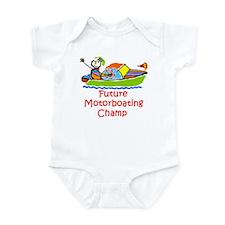 Future Motorboating Champ Onesie