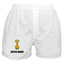 Giraffe Personalize It! Boxer Shorts